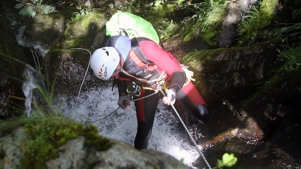 Canyoning at Swarthbeck