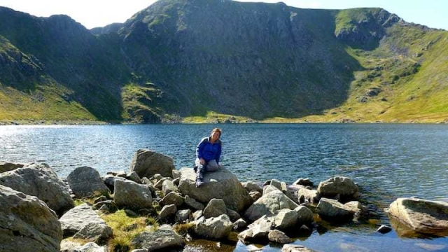 Walking up Helvellyn - a walk in the Ullswater valley