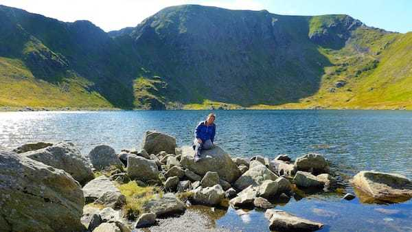 Walking up Helvellyn-a walk in the Ullswater valley