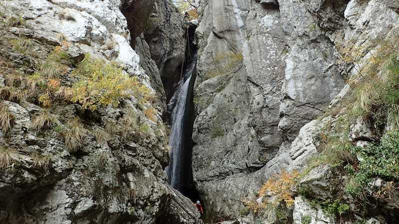 a huge asbeil in Montenegro-Međurečki canyon
