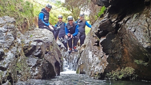 Dive into ghyll scrambling - Image from Stoneycroft ghyll
