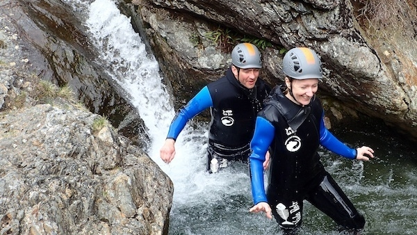 Explore ghyll scrambling in the Lake District